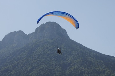 Paragliding flight – 2 Alpes parapente