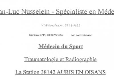 Doctor JL Nusselein