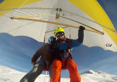 Hang-gliding flight – 2 Alpes Delta