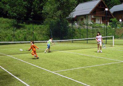 Tennis in Venosc