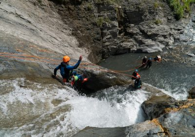 Canyoning with No Limit Rafting