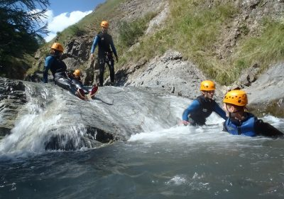 Sporty introduction to canyoning with Aventure Verticale La Meije